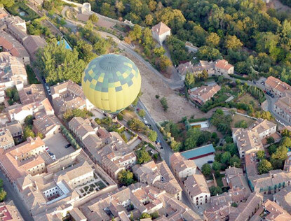 Paseos en Globo baratos en Segovia
