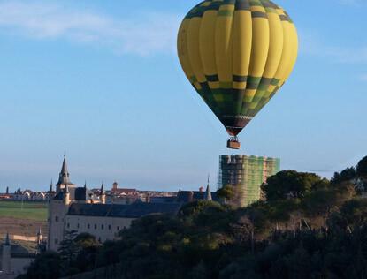 Vuelos en Globo baratos en Segovia