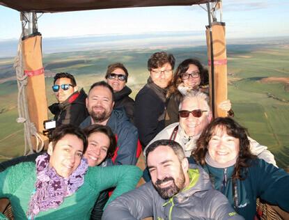 Vuelos y paseos en Globo en Segovia